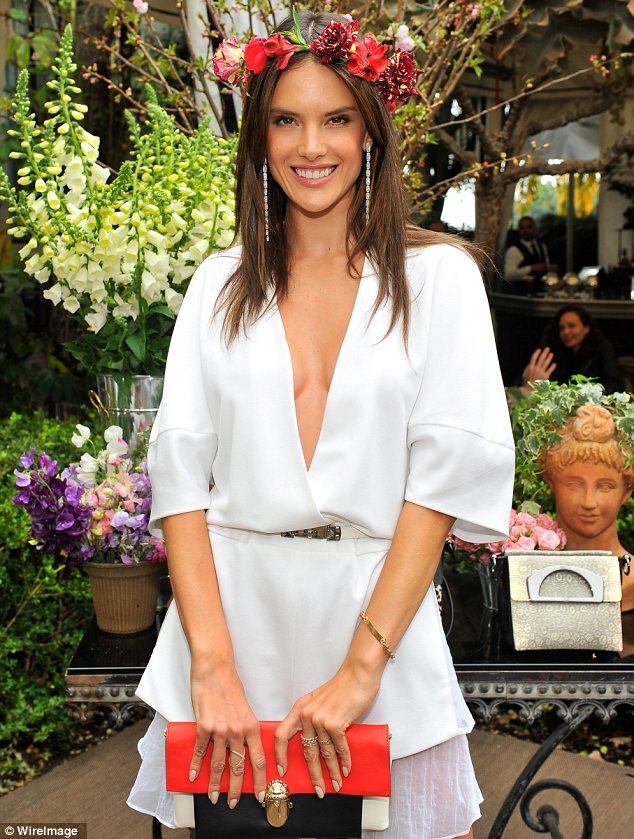 Alessandra Ambrosio attends Christian Louboutin handbag launch