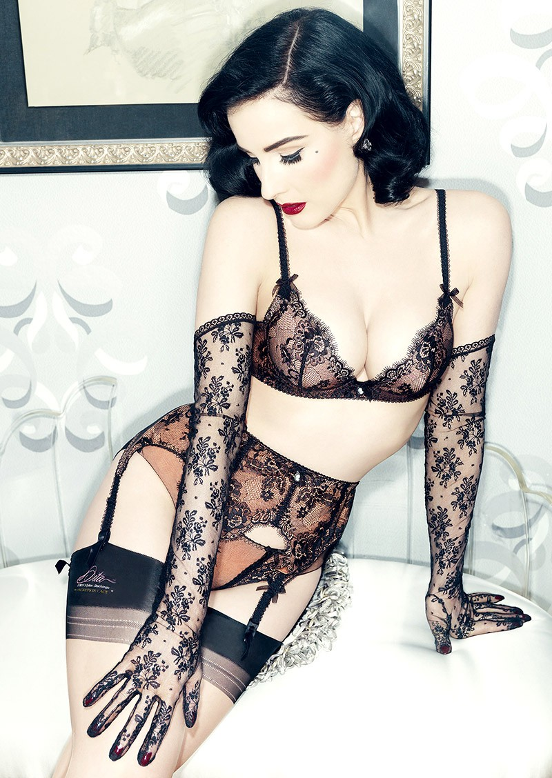 Dita von Teese for Bloomingdale\'s