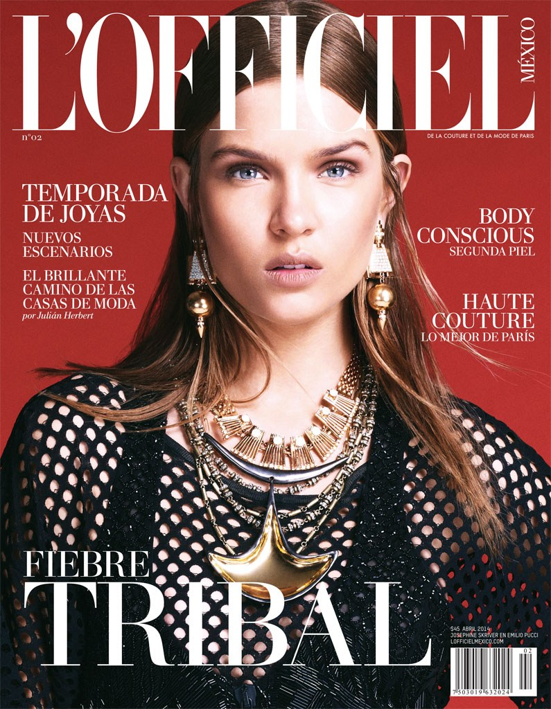 Josephine Skriver covers L\'Officiel Mexico