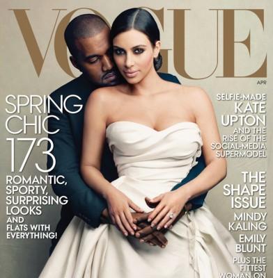 Kim Kardashian covers American Vogue, many discontent