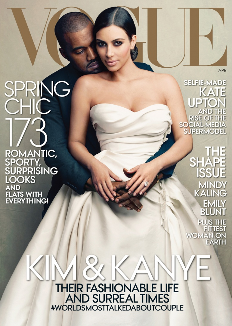 Kim Kardashian covers American Vogue, many discontent