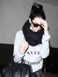 Kendall Jenner spotted at LAX