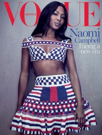 Naomi Campbell covers limited edition Vogue Australia