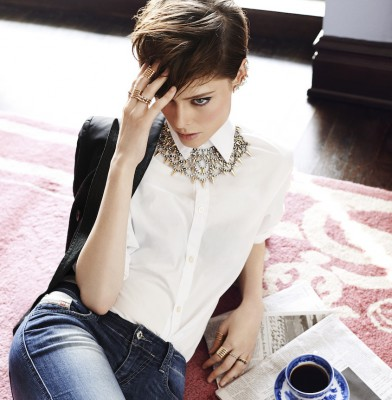 Coco Rocha for BaubleBar