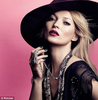 Kate Moss unveils new Rimmel London collection