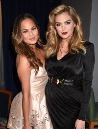 Kate Upton and Chrissy Teigen turn heads at the MTV Movie Awards