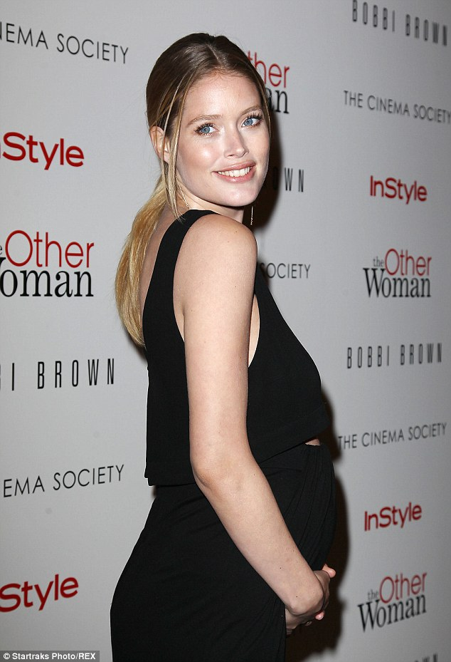 Doutzen Kroes hopes her daughter will value brains over beauty
