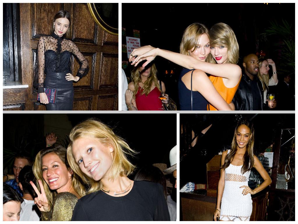 Models party up at pre Met Gala bash
