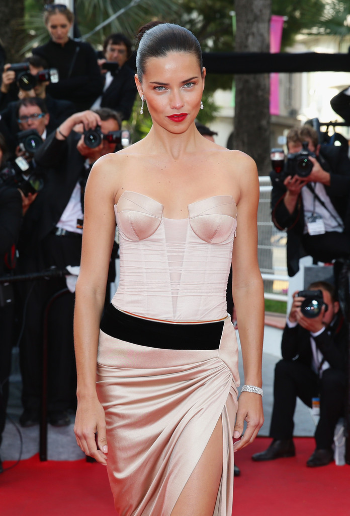 Adriana Lima smoulders at the Cannes Film Festival