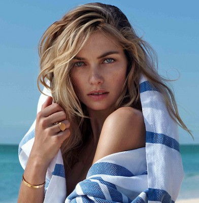 Jessica Hart sizzles in swimwear for The Edit