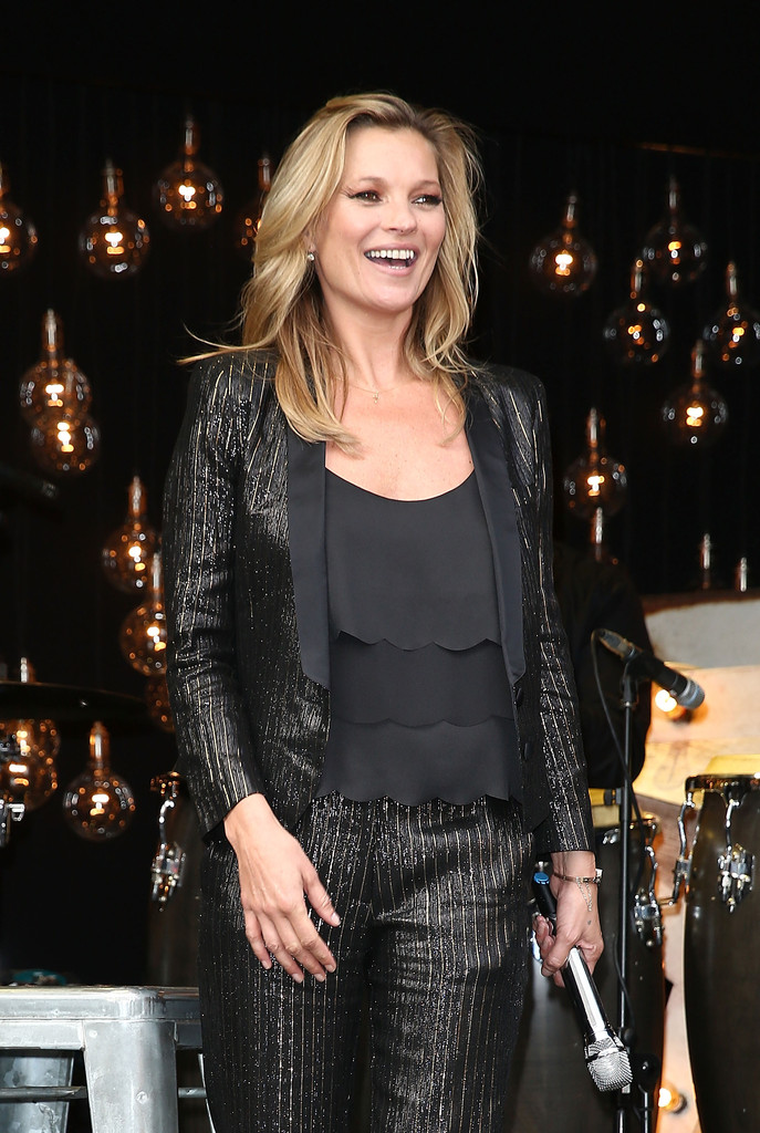 Kate Moss launches collection for Topshop