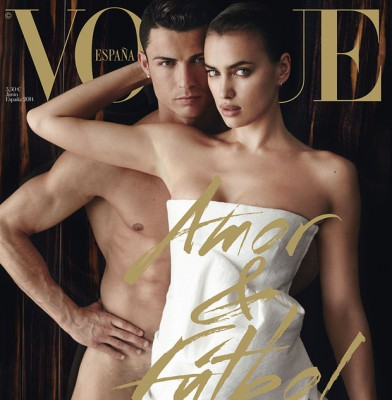 Cristiano Ronaldo & Irina Shayk appear sexy on Vouge Spain's cover