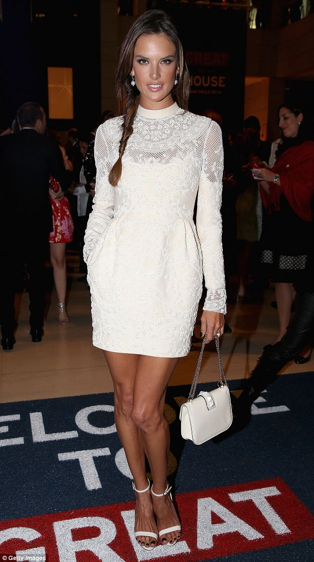 Alessandra Ambrosio looks regal at GREAT Britain reception