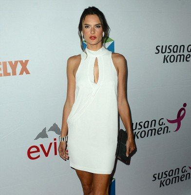 Alessandra Ambrosio turns heads for a good cause at breast cancer fundraiser