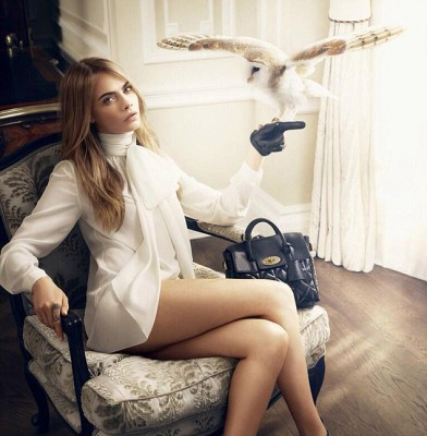 Cara Delevingne fronts new Mulberry campaign