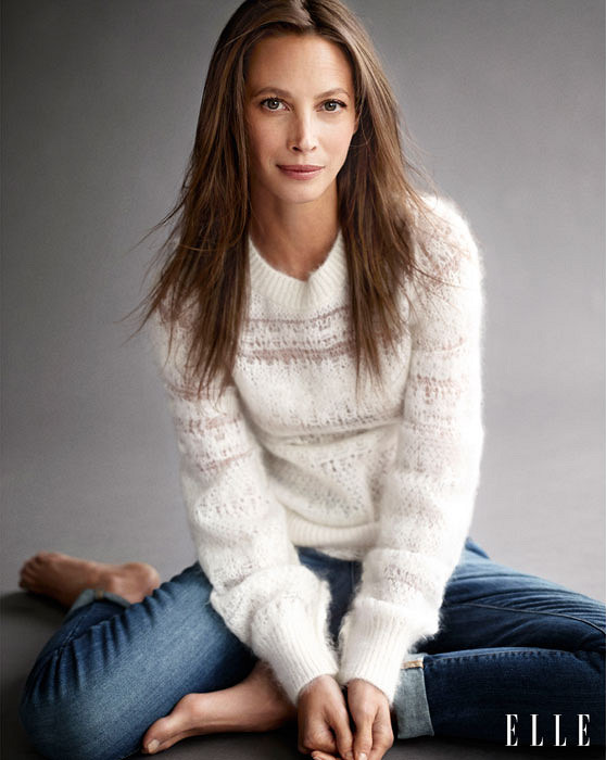 "Christy Turlington: ""I don\'t want to look younger than I am"""