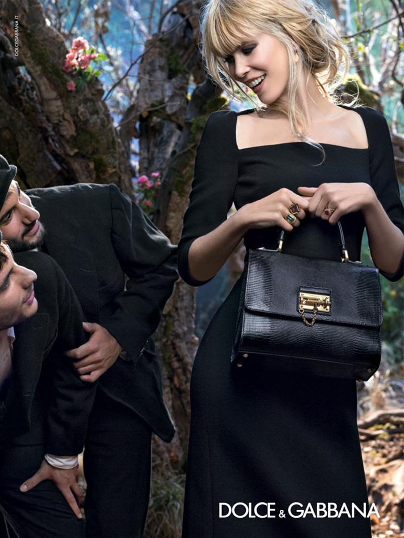 Claudia Schiffer stars in new Dolce & Gabbana campaign