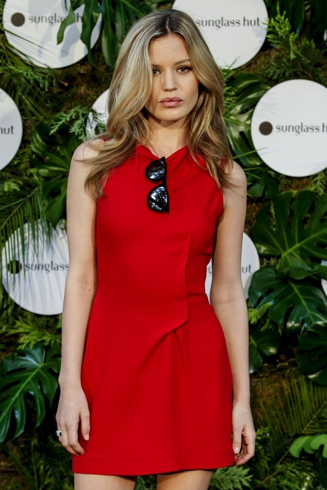 Georgia May Jagger stuns at Sunglass Hut party