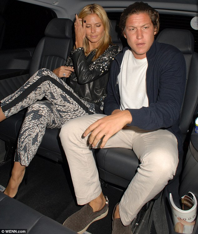 Heidi Klum hits the Chiltern Firehouse with younger beau