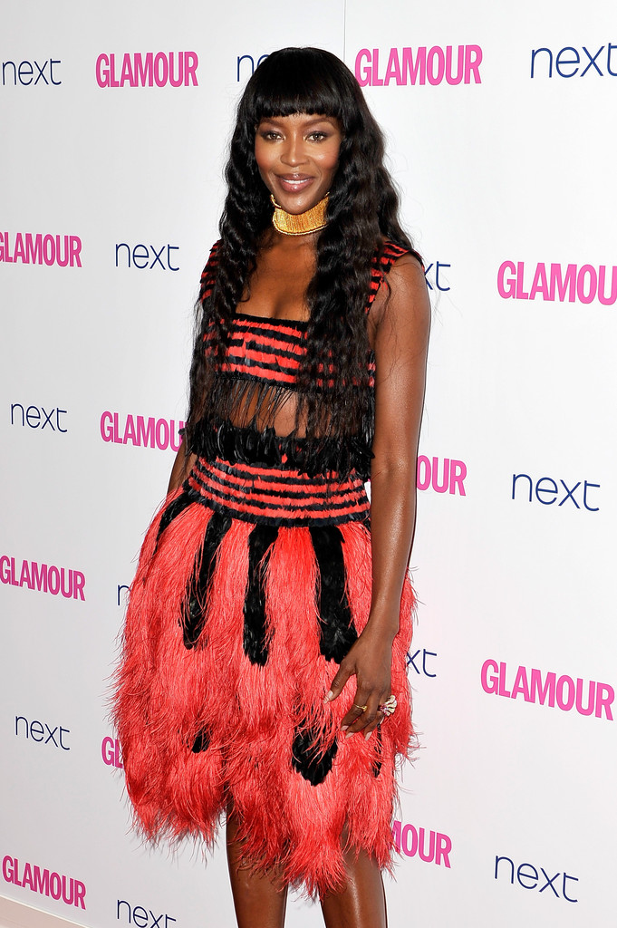 Naomi Campbell stuns at the Glamour Women of the Year Awards