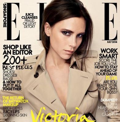Victoria Beckham covers Elle Singapore