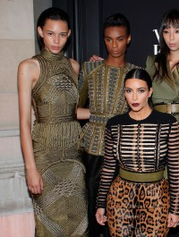 A model army at the Vogue Paris Foundation gala