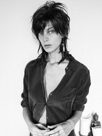 Daria Werbowy captures herself for Equipment\'s new self