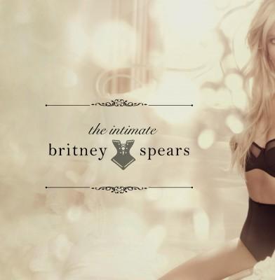 Britney Spears Models Her New Lingerie Line