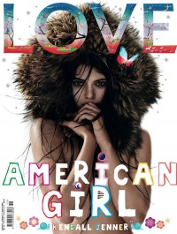 Kendall Jenner covers Love Magazine