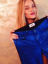 Rosie Huntington-Whiteley to design for Paige Denim?