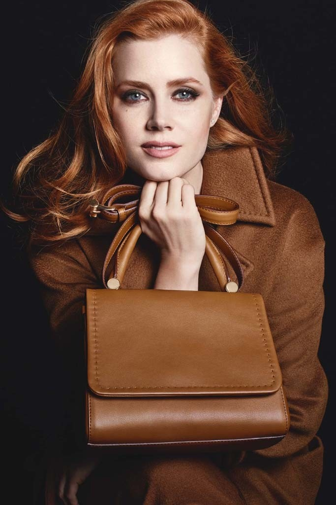 Max Mara enlists Amy Adams for fall accessories ads