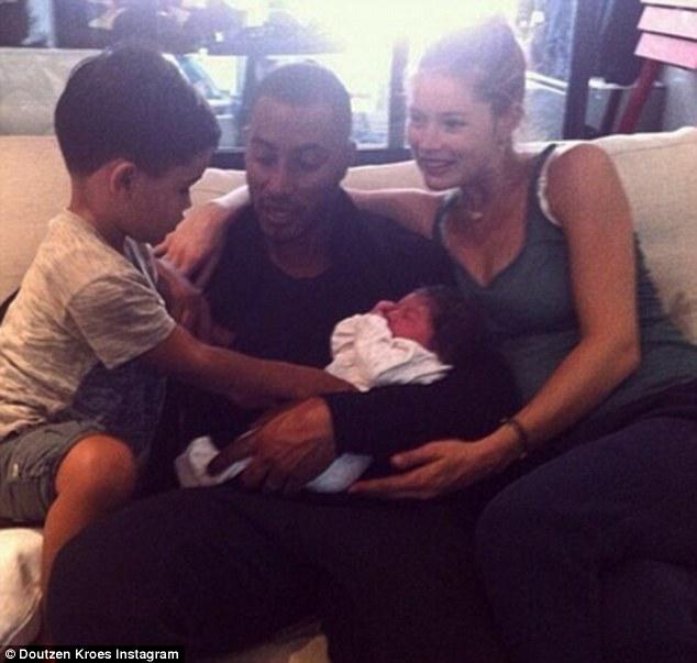 Doutzen Kroes welcomes baby girl