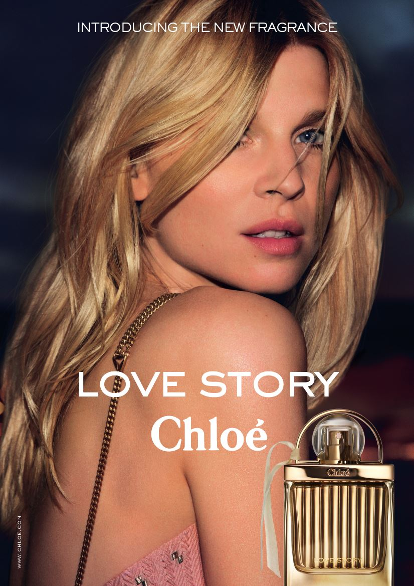Clemence Poesy Returns As The Face Of Chloe Fragrance