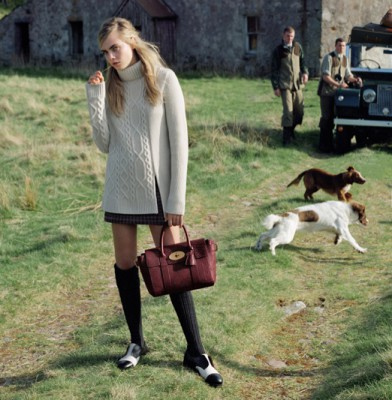 Cara Delevingne Returns For Mulberry's Autumn Winter 2014 Campaign