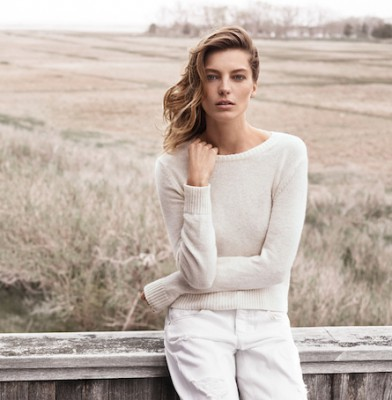 Daria Werbowy returns for Mango\'s fall/winter 2014 campaign