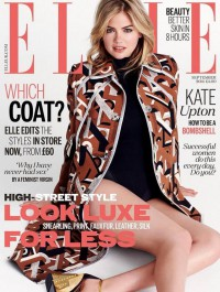 Kate Upton Wows on Elle\'s UK September Cover 2014