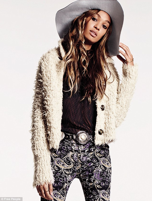 Joan Smalls fronts new Free People campaign