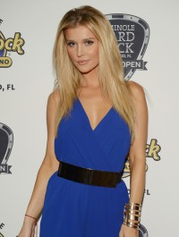 Joanna Krupa stuns for a good cause in little blue playsuit
