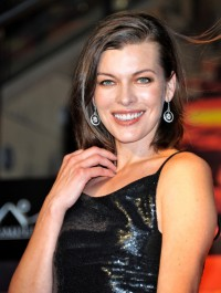 Milla Jovovich has a second baby on board!