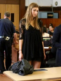 Roosmarijn De Kok Appears In Court After Being Arrested For Shoplifting