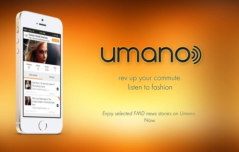 Rev up your commute, listen to Fashion via Umano