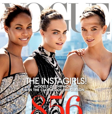 Vogue�s September Model-Tastic Cover Is Finally Unveiled