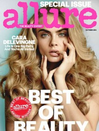 Cara Delevingne Lands Allure\'s Best Of Beauty Cover