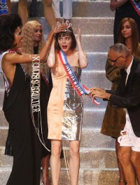 Coco Rocha is crowned Miss Jean Paul Gaultier during designer\'s last ready-to-w