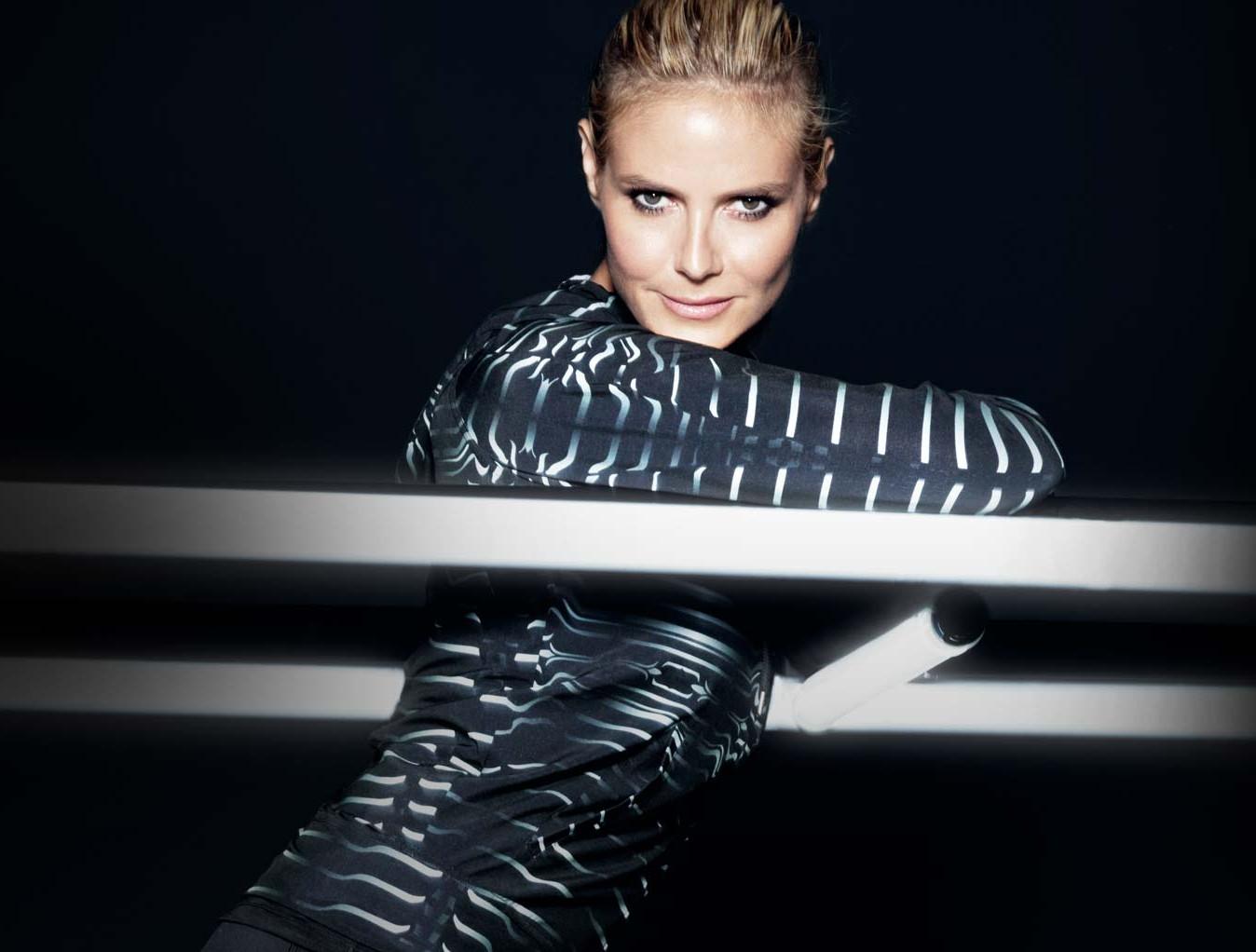 Heidi Klum designs activewear for New Balance