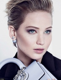 Jennifer Lawrence graces fourth Dio