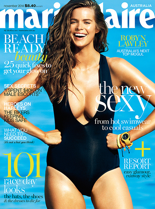 Robyn Lawley speaks to Marie Claire Australia about the fashion idustry\'s pressure to be thin