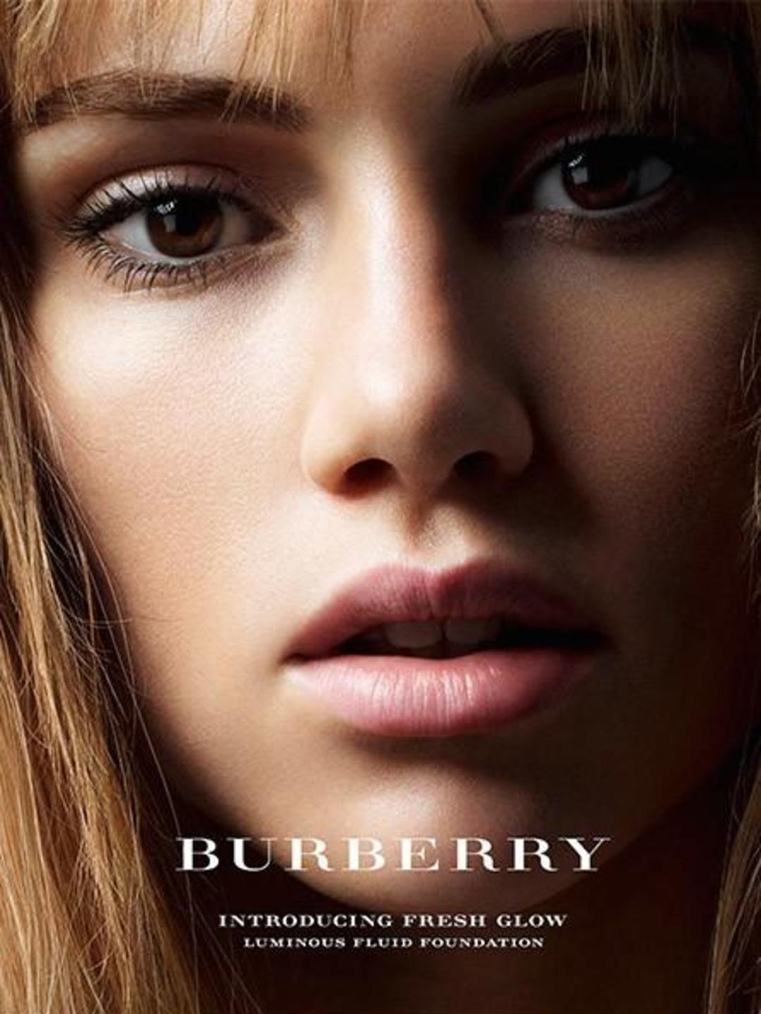Suki Waterhouse fronts Burberry beauty campaign