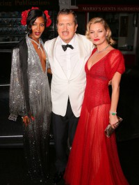 Mario Testino Celebrates 60th Birthday with Kate Moss & Naomi Campbell