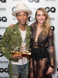 Cara Delevingne & Pharrell Are Reportedly Making Music